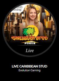 The Grand Ivy Casino Carribean Stud Poker