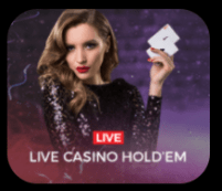 Live Casino Hold Em at The Sun Vegas Live Casino Mobile