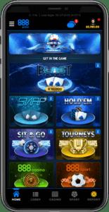 888Poker 888 Poker on Mobile Device in 2021 Online Poker E Vegas