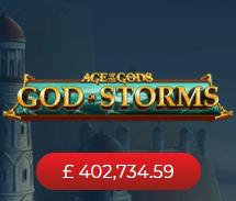 Sun Vegas Online Slots God of Storms Online Slot