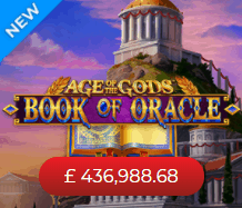 Book of Oracle Age of The Gods Online Videoslot