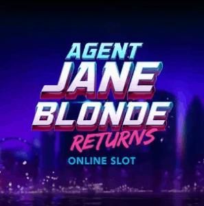 Play at Videoslots.com or Jackpot Joy Agent Jane Blonde Returns Online slot at Videoslots