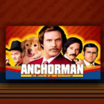 Ron Burgundy is Anchorman in this great Online slot at Virgin Games