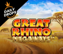 Great Rhino Megaways Casino online slots at E Vegas Sun Vegas review 2021