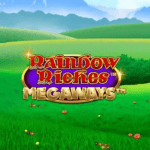Rainbow Riches Megaways part of the Rainbow Riches online slots series review at E Vegas
