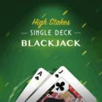 Single Deck Blackjack at Rainbow Riches 2021