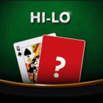 Table Games HI-Lo Card Game at Megaways Casino online 2021 review at E Vegas Online Casino reviews 2021