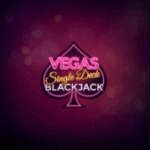 Vegas Single deck Blackjack Casino table Game at Dream Vegas review 2021 at E Vegas Casino Bonus and review