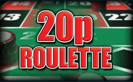 20p Roulette Table Game from Grosvenor Casino