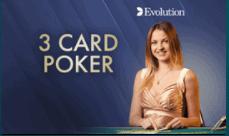 3 Three Card Poker Online 2021 E Vegas