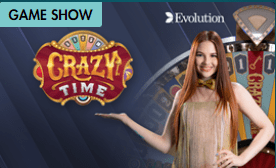 Crazy Time Live the Gameshow from Evolution Gaming Online