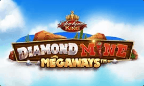 Diamon Mine from Megaways where you can strike it rich and spin to win at G Casino online casino reviews at E Vegas