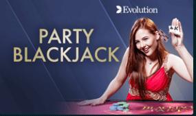 Evolution Party Blackjack Live
