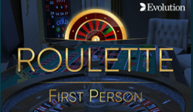 First Person Roulette at G Casino UK online