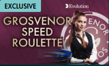 G Casino Grosvenor exclusive Live Roulette Game only at Grosvenor Casino
