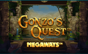 Gonzos Quest Megaways can be played online in the UK at Grosvenor Casino read review online at E Vegas