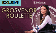 Grosvenor exclusive Roulette only at Grosvenor Casino