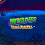 Invaders New Megaways slot at The Grand Ivy Casino read review at E Vegas 2021
