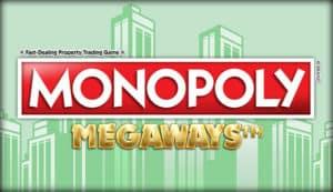 Monopoly Megaways slot online at E Vegas Casino reviews UK online casino slots 2021