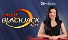 Speed Blackjack Live by Evolution Games
