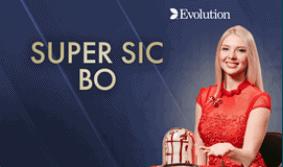Super SIC BO Baccarat at UK G Casino online from Evolution Live Casino at Grosvenor