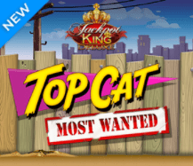 Top Cat Slot TopCat Most Wanted Online Videoslot at The Sun Vegas 2021 Read the review at E-Vegas.com UK