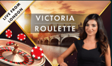 Victoria Live Roulette Live from London UK Casino Online review at E Vegas 2021