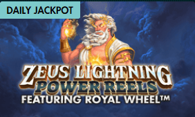 Zeus Lightning Power Reels Jackpot Game at G Casino Grosvenor also King Spin Deluxe from Jackpot King