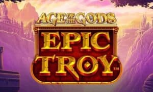 Epic Troy Age of The Gods slots available to play now at Mecca Bingo online