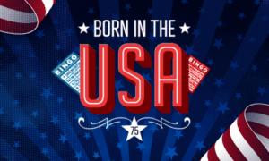 Born in The USA Bingo game online Bingo sites review at E-Vegas.com reviews Mecca Bingo online 2022