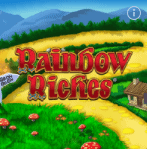 Rainbow Riches slot games available online at William Hill Casino read the review at E-Vegas.com