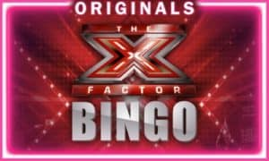 The X Factor origional Bingo right here at Mecca Bingo