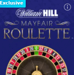 William Hill online exclusive Mayfair Roulette
