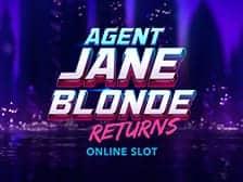 Agent Jane Blonde at Aspers Casino online