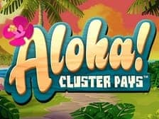 Aloha Cluster Pays at Aspers online casino 2022