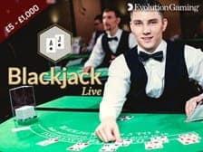 Blackjack at Regal Wins by Evolution Games