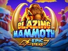 Blazin Mammoth Epic Strike slot game at Regal Wins 2021 new online casino