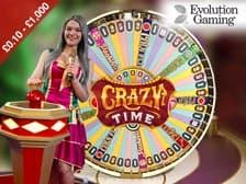 Crazy Time Live Casino Game show at Regal Wins Casino New 2021