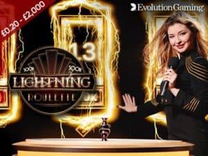 Evolution Lightning Roulette at Regal Wins