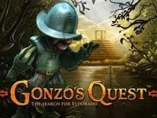 Gonzos Quest Net Ent top online slot game 2021 at Aspers casino online