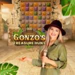 Gonzos Treasure Hunt Live Casino Game Show at Dream Vegas Casino online 2021