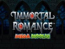 Immortal Romance Mega Moolah New slots Regal Wins 2021