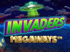 Invaders Megaways at Aspers online casino