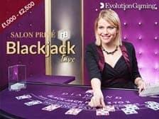 Live Blackjack Diamond VIP