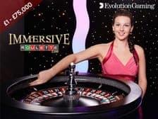 Live Immersive Roulette at Aspers Casino 2021