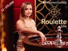 Live VIP Evolution Gaming Roulette