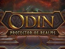 ODIN protector of Realms slot game online casinos at E Vegas