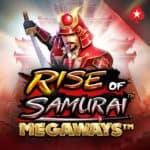 Rise of Samurai MegawaysFeatures Minimum Bet:£0.20 Maximum Bet:£100.00 Return to Player:95.7% Paylines:2000 Bonus Features:Free Spins