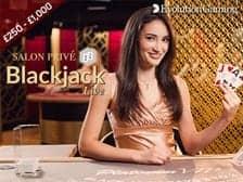 Salon Prive Live Platinum Blackjack