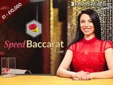 Speed Baccarat Live Game by Evolution Gaming at Regal Wins online casino